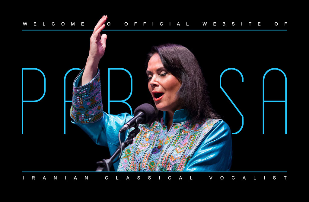 Official website of Parissa - Iranian Classical Vocalist